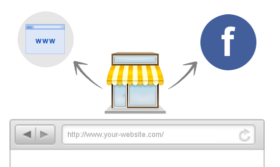 webshop and facebook store app