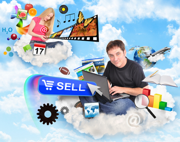 Sell digital products, sell e-books, sell audio tracks, sell multimedia, sell software