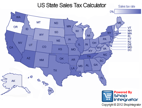 Tennessee Sales Tax Calculator >> ShopIntegrator 4.0 shopping cart launches mobile ecommerce and US state sales tax calculator ...