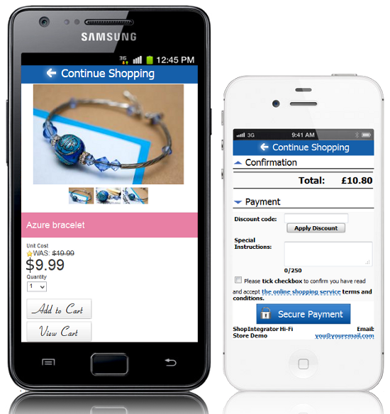 m electronic online shop
